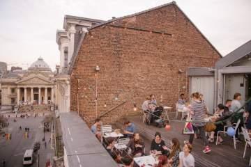 terrace picnic beursschouwburg