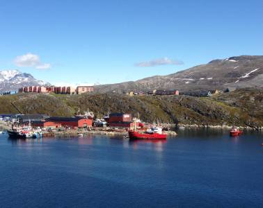 LeviSarha in Greenland