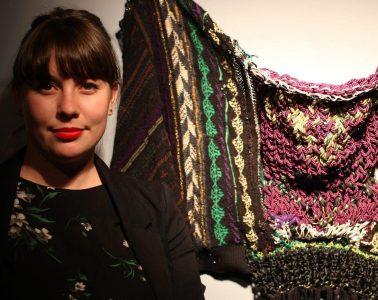 Textile artist Delphine Dénéréaz, Brussels