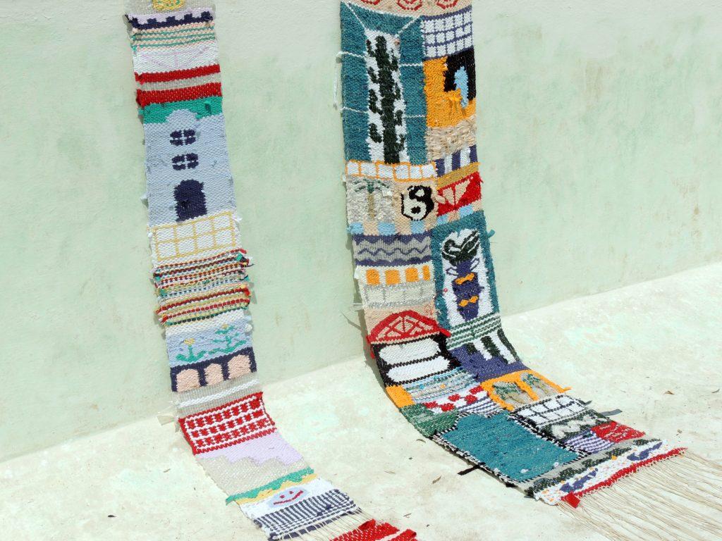 Textile artist Delphine Dénéréaz