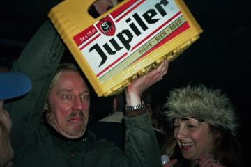 Cover photo Jupiler beer party belgium