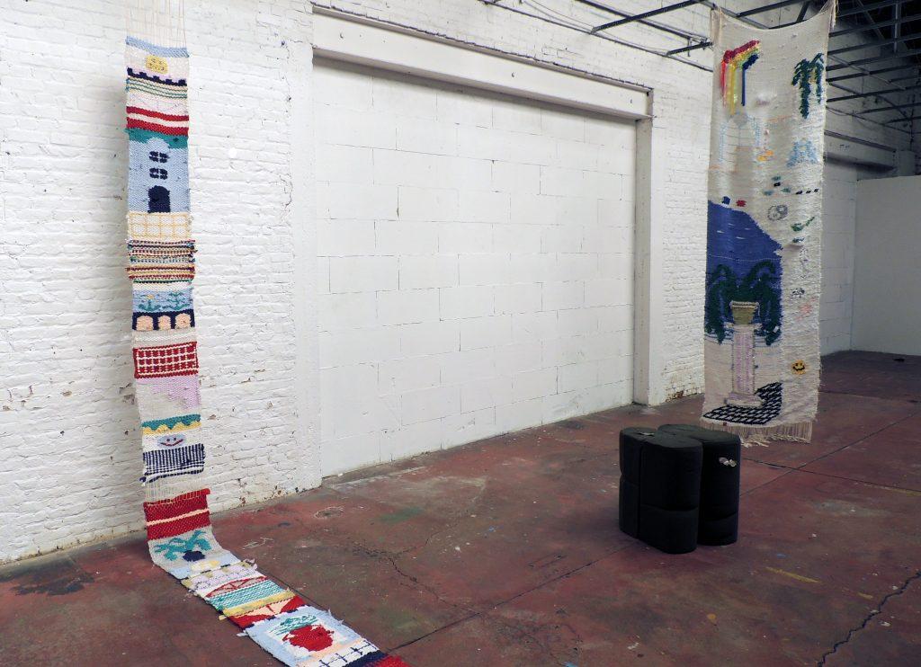 Textile artist Delphine Denereaz