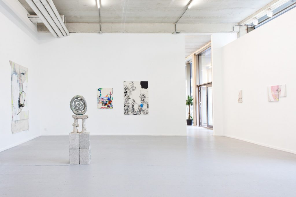 Make your mark, exhibition at Plus One Gallery Antwerp