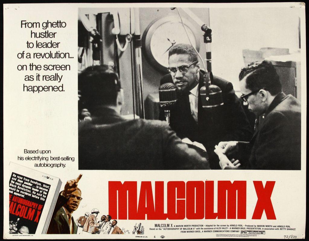 Spike Lee's Malcom X at Cinema Aventures in Brussels, retrospective