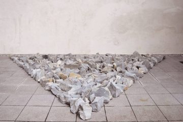 Richard Long exhibition at Cab in Brussels
