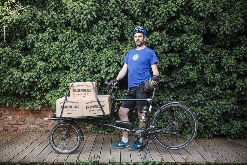Brussels' bike couriers