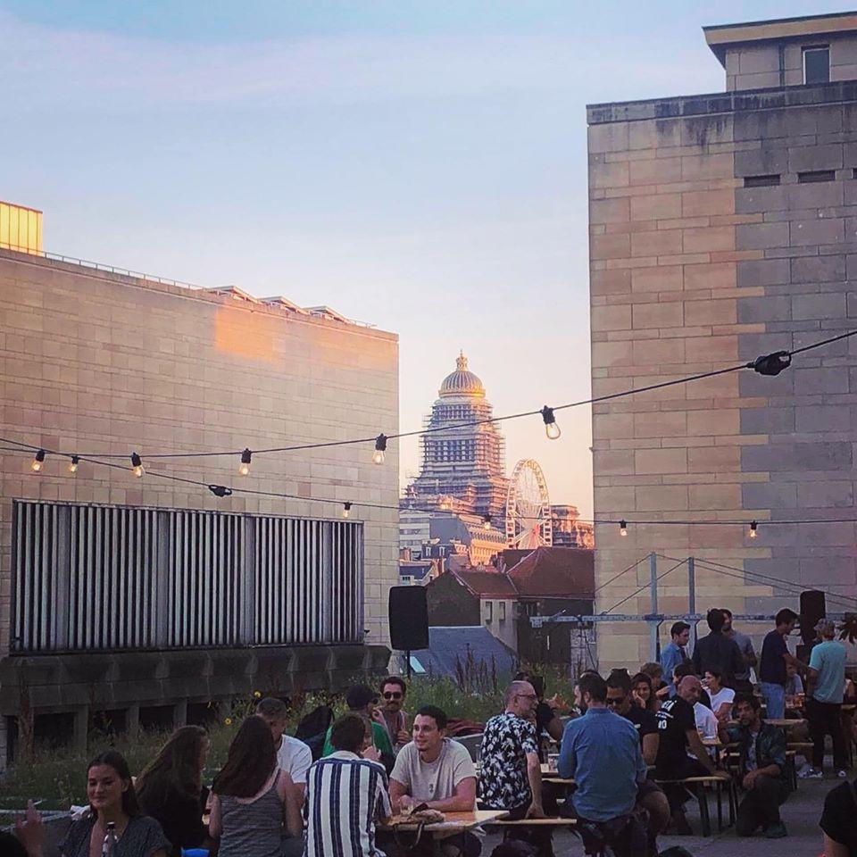 7 things to do in Belgium / Albert Rooftop Brussels
