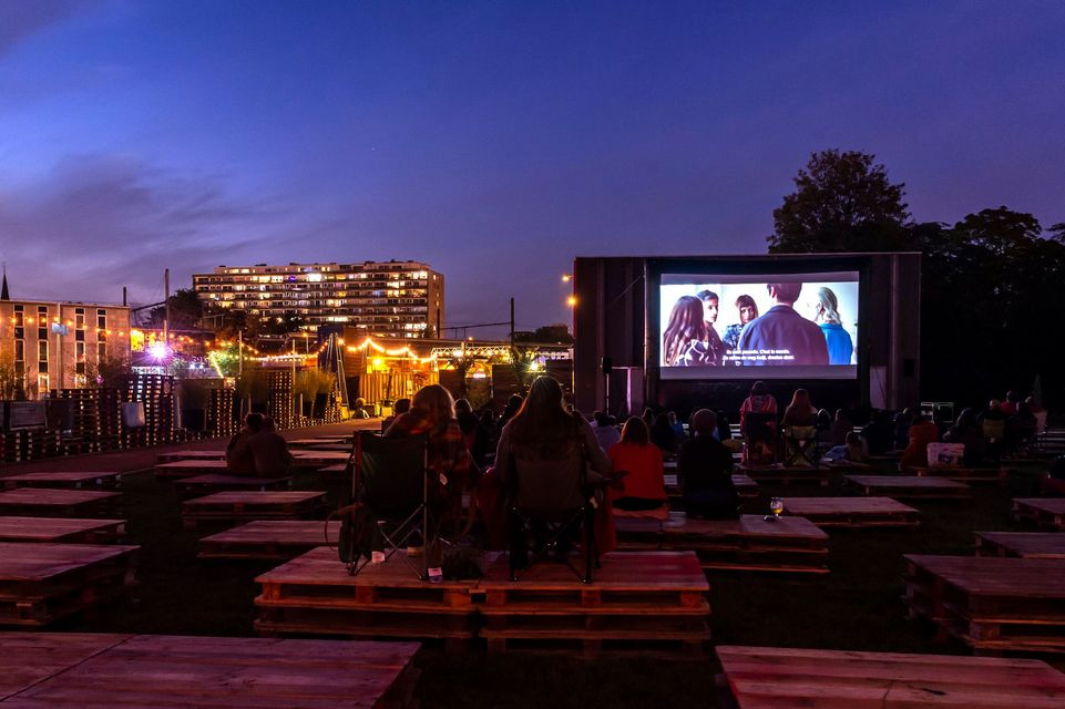 open air cinema Antwerp